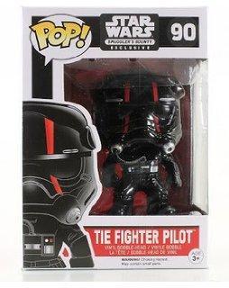 #90 Piloto de caza TIE de la Primera Orden con bandas rojas