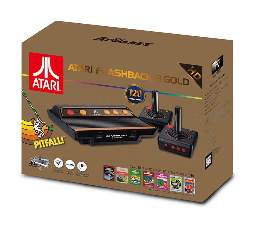 Atari Flashback 8 Gold, la consola retro de AtGames