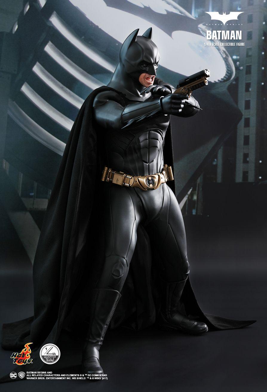Así son las espectaculares figuras de El Caballero Oscuro ... Christian Bale