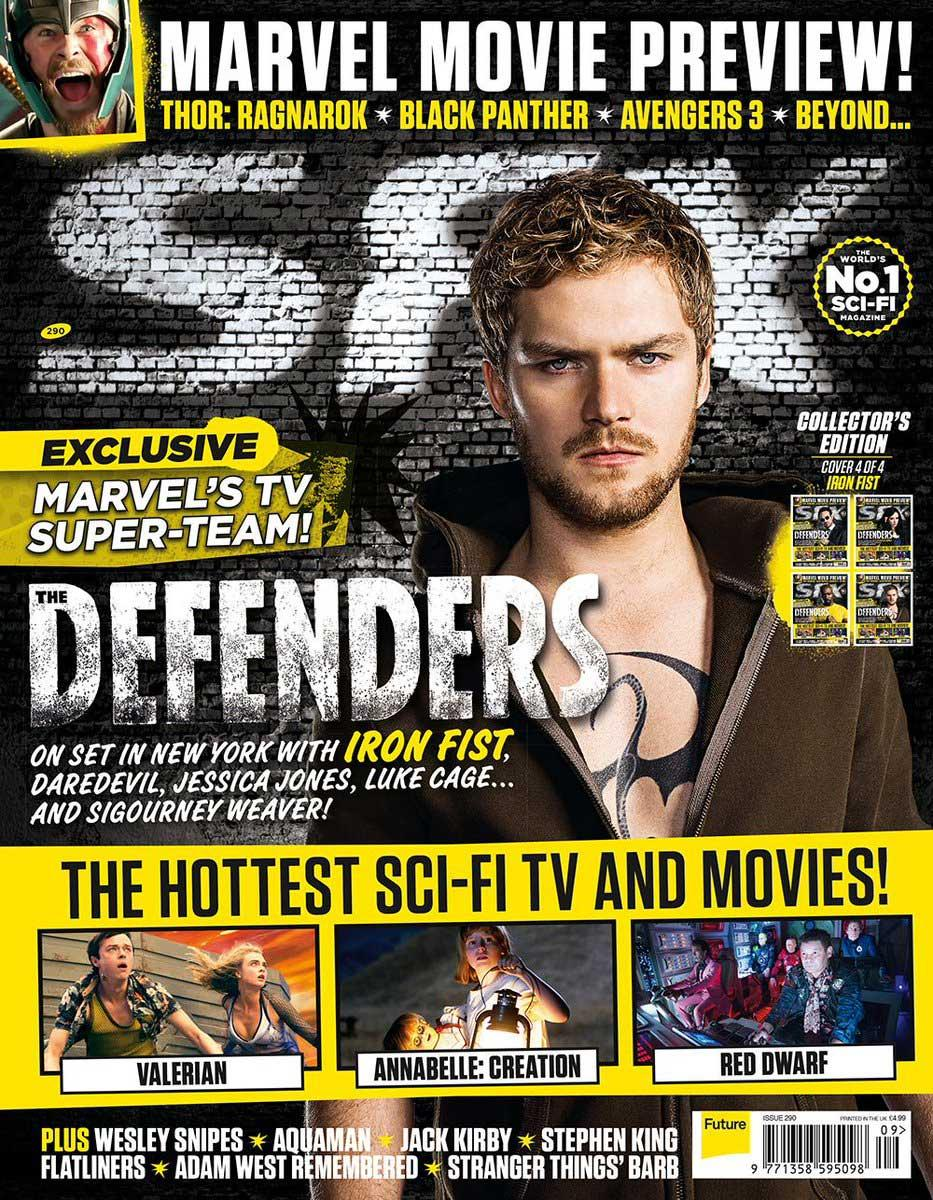 The Defenders SFX Magazine (Danny Rand/Iron Fist)