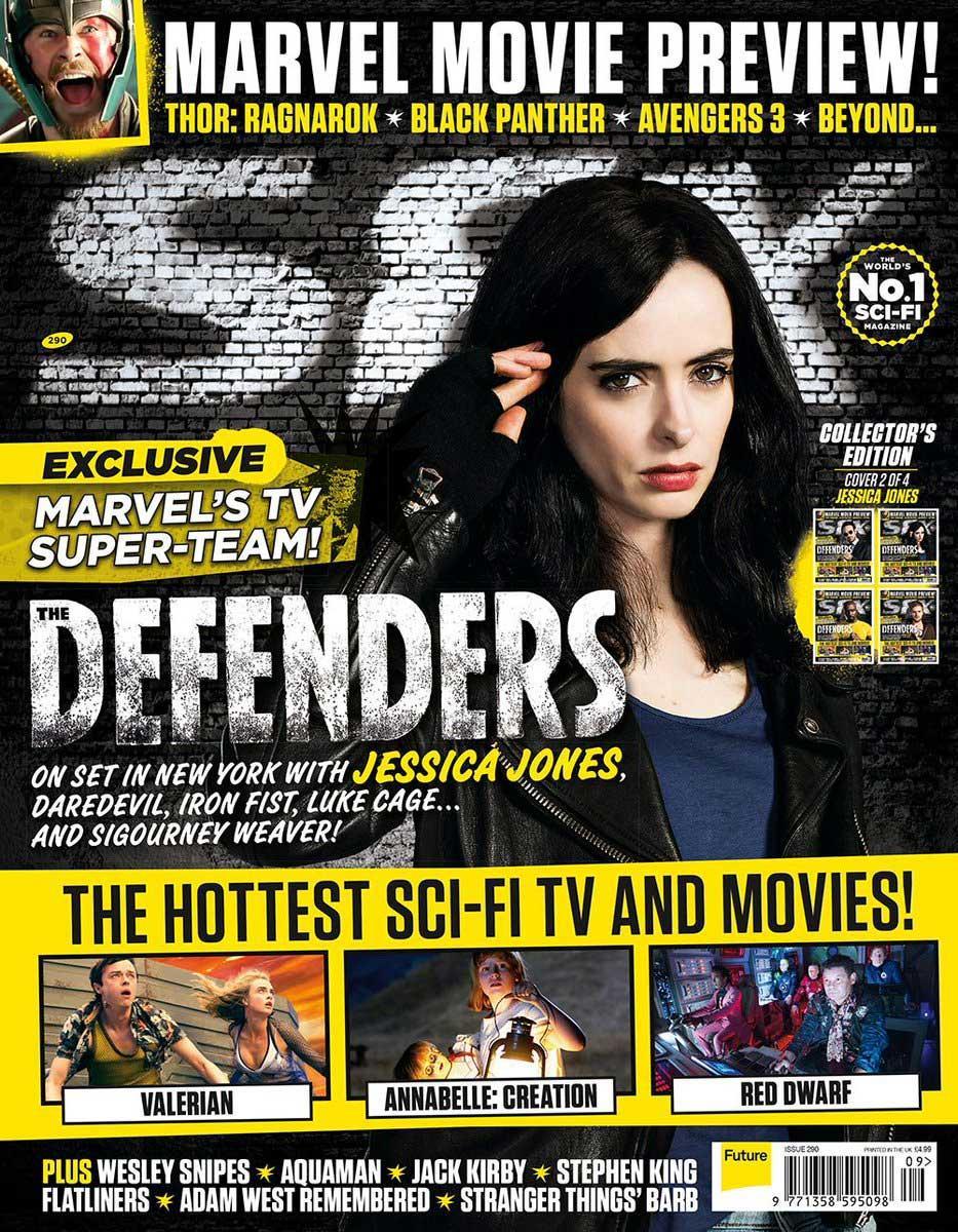 The Defenders SFX Magazine (Jessica Jones)
