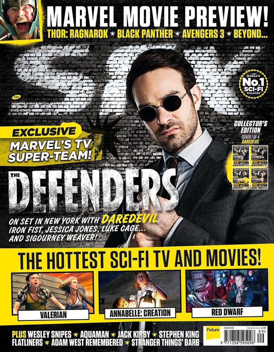 The Defenders SFX Magazine (Matt Murdock/Daredevil)