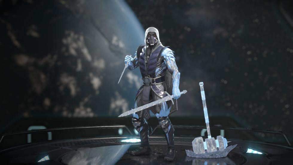 Equipaciones de Sub Zero en Injustice 2