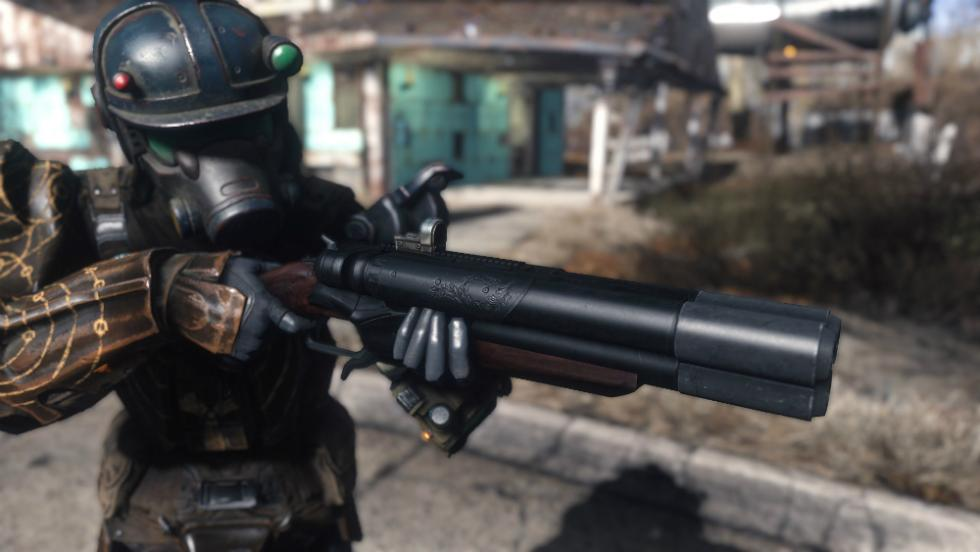 Fallout 4 Trinity Shotgun