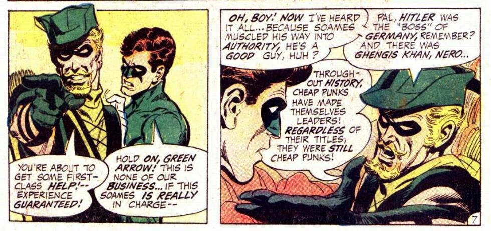 Green Lantern / Green Arrow - Review del mayor crossover de DC