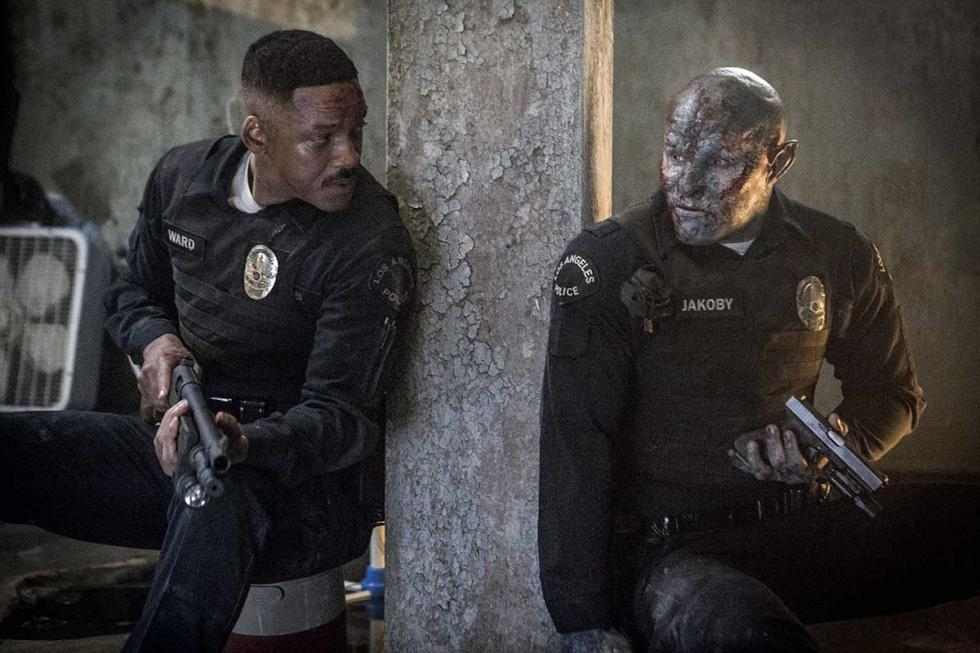 Will Smith y Joel Edgerton en Bright