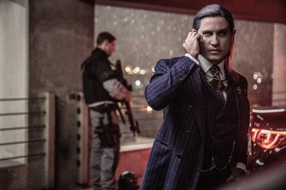 Edgar Ramírez en Bright, la nueva película de Netflix
