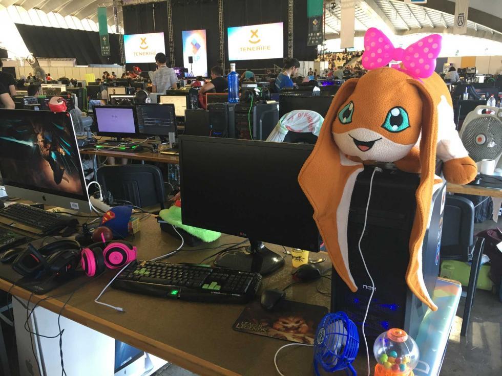 PC gaming Tenerife Lan Party 2017