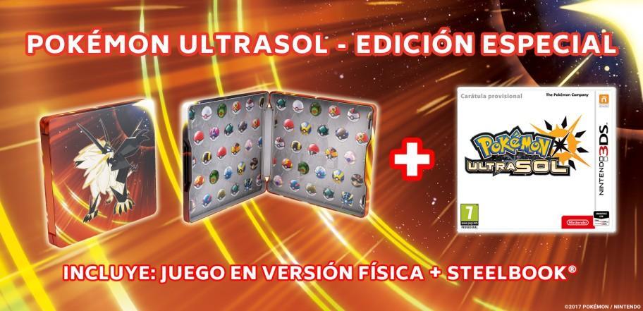 Pokémon Ultrasol - Edición especial
