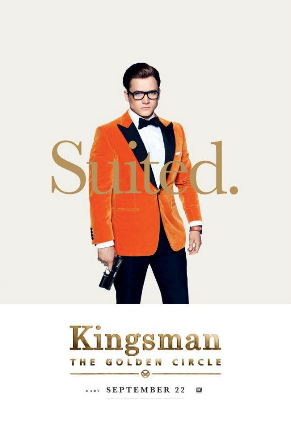 Taron Egerton en Kingsman: El círculo de oro
