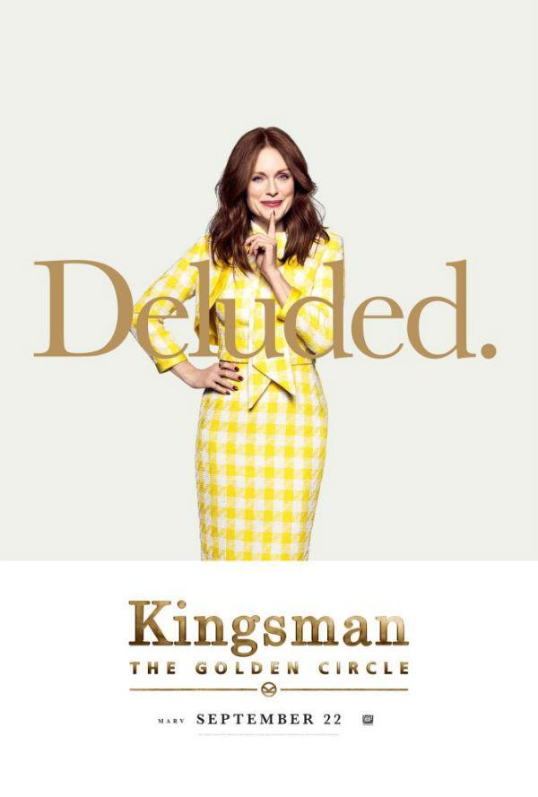 Julianne Moore en Kingsman: El círculo de oro