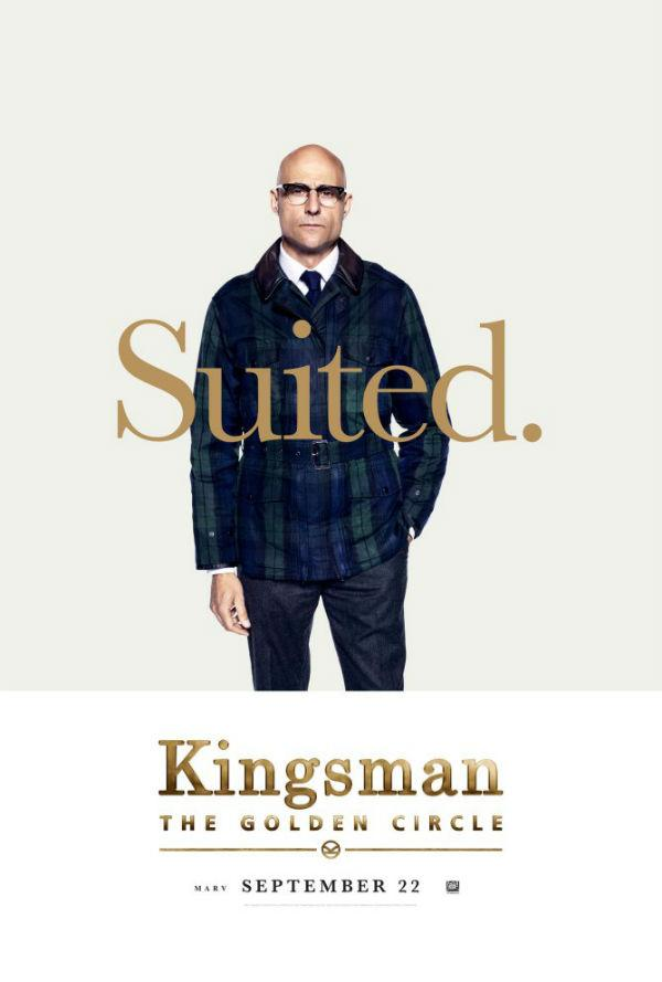 Mark Strong en Kingsman: El círculo de oro