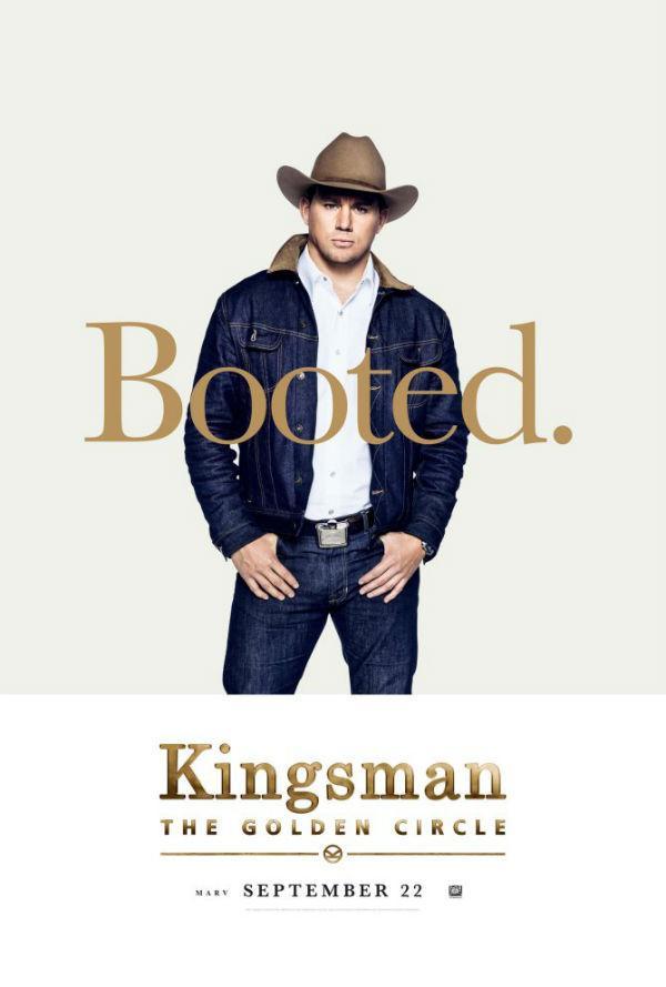 Channing Tatum en Kingsman: El círculo de oro