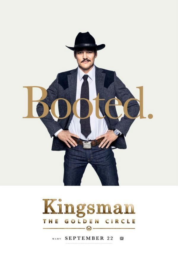Pedro Pascal en Kingsman: El círculo de oro