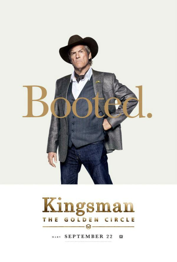 Jeff Bridges en Kingsman: El círculo de oro