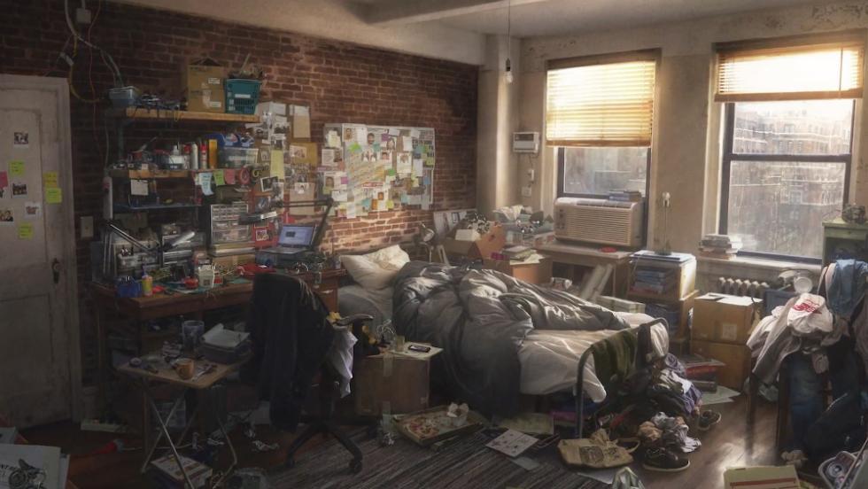 Arte conceptual de Spider-Man para PS4