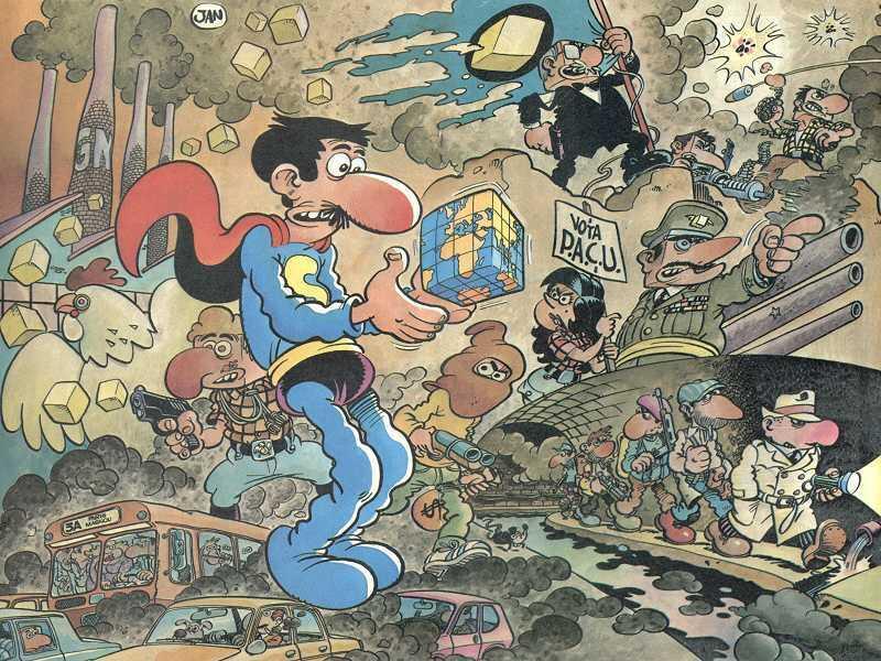 Superlópez - Los 10 mejores tebeos del superhéroe de JAN