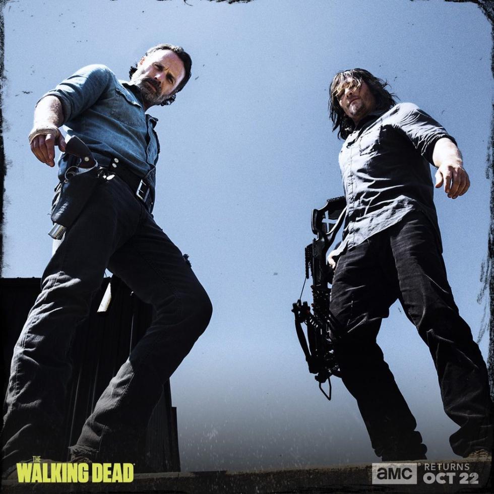 Temporada 8, AMC, posters promocionales