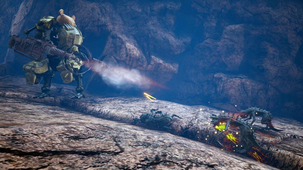 Imágenes de Biomutant, el juego de THQ Nordic para PS4, Xbox One y PC