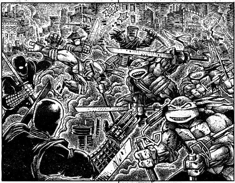 Daredevil, el héroe de the Defenders, inspiró las Tortugas Ninja