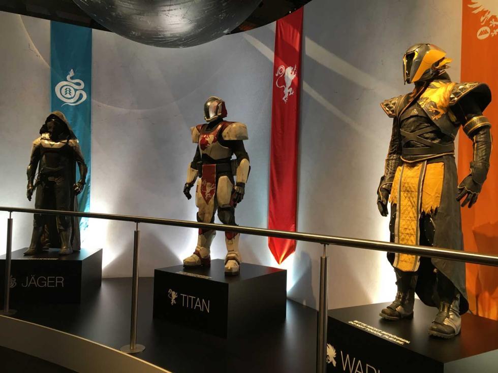 Estatuas Gamescom