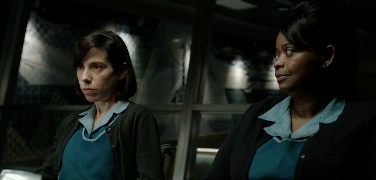 La Forma del Agua - imágenes de la película de Guillermo del Toro