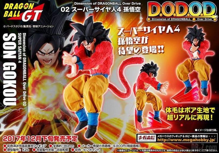 Goku Super Saiyan 4 Dimension of DRAGONBALL Over Drive