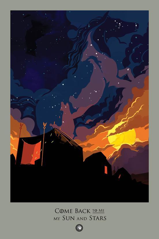 Las muertes de Juego de Tronos convertidas en obras de arte