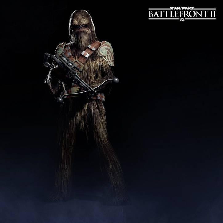 Star Wars Battlefront 2 - Guerrero Wookiee