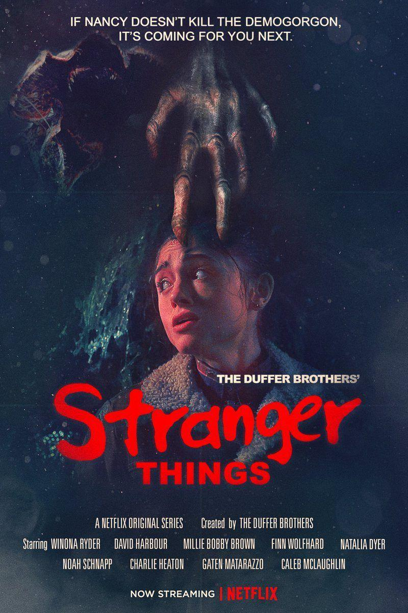 Stranger Things temporada 2 póster