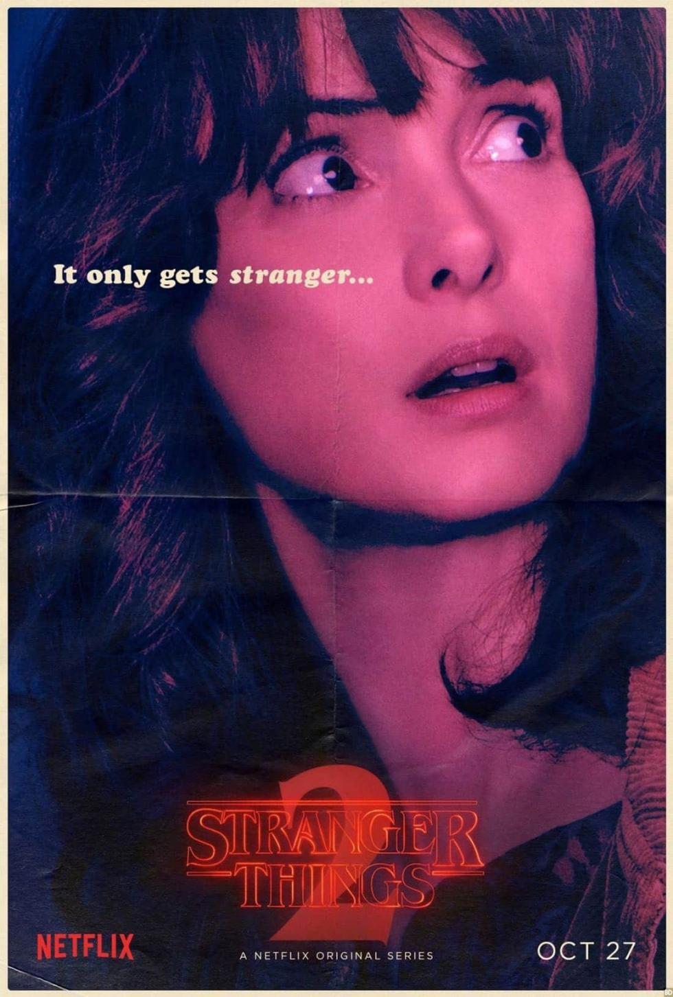 stranger things temporada 2 - Pósters de personajes
