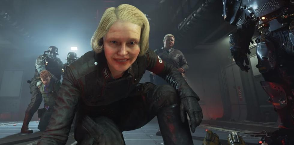 Wolfenstein 2 The New Colossus - frau Engel
