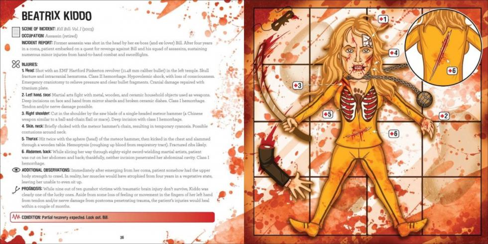 Ain't got time to bleed - Beatrix Kiddo