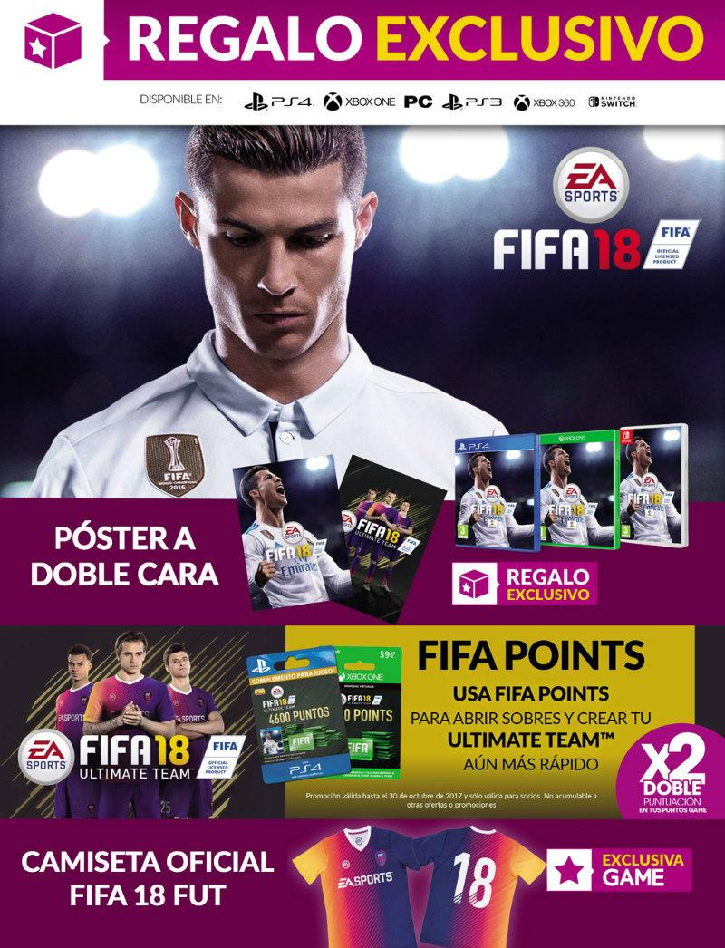 FIFA 18 en GAME