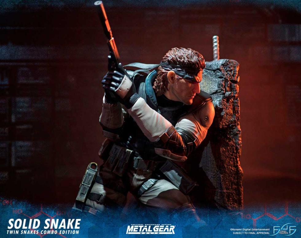 Figura Solid Snake