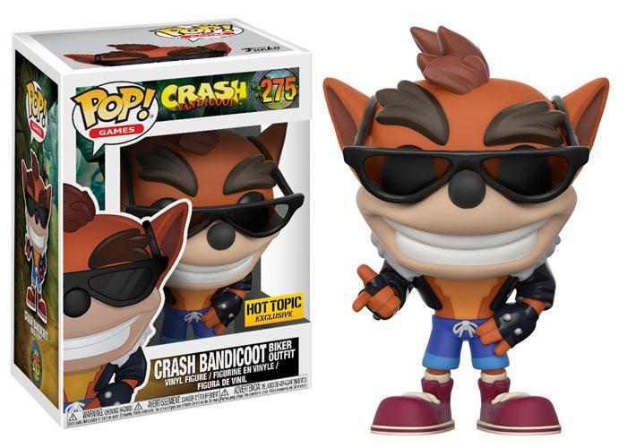 Figuras Funko Pop! de Crash Bandicoot