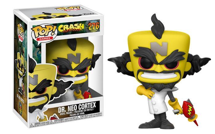 Funko Pop! del Dr. Neo Cortex