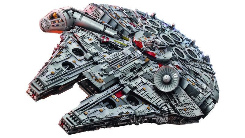 El Halcón Milenario - nuevo set de LEGO