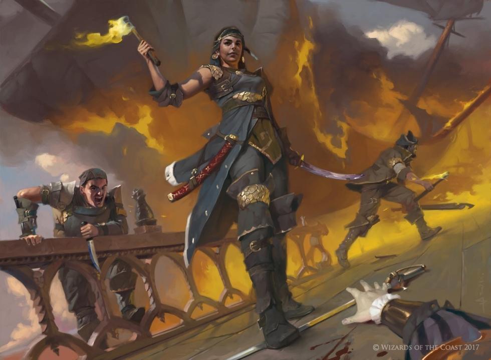 Magic: The Gatherin- Facciones de Ixalan