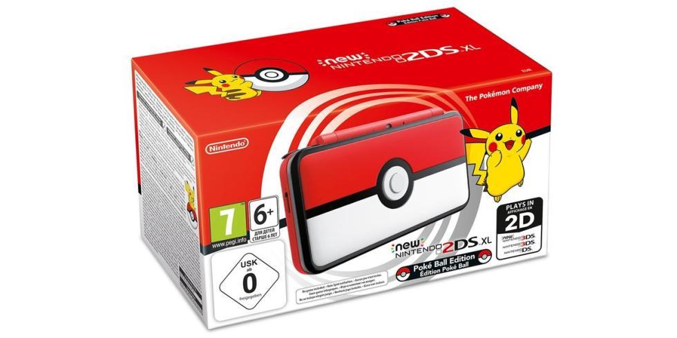 Nintendo 2DS XL Edición Pokéball