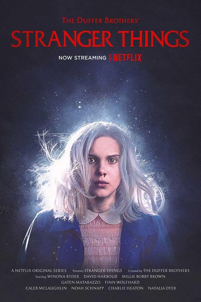 Nuevo póster de Eleven en Stranger Things