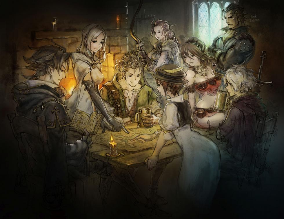 Project Octopath Traveler para Nintendo switch