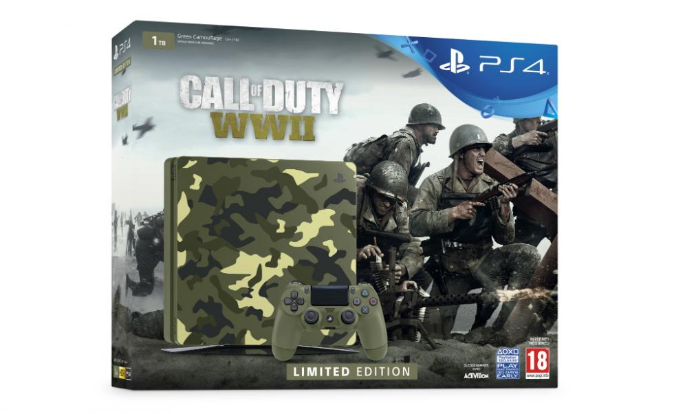 PS4 Edición Limitada de Call of Duty WWII