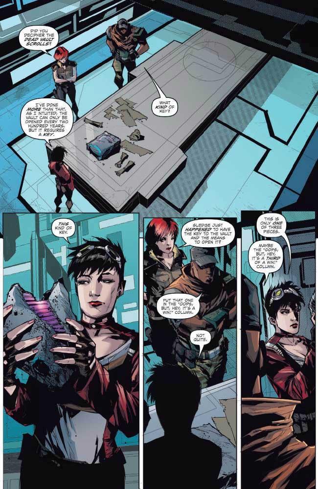 Review de Borderlands: Tannis y la Cámara, el cómic del juego