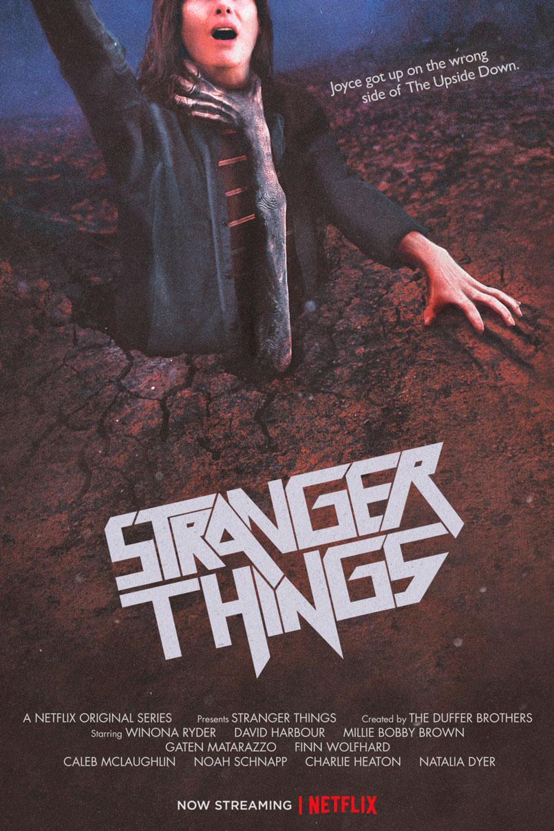 Stranger Things rinde homenaje a Evil Dead en el nuevo póster de la segunda temporada