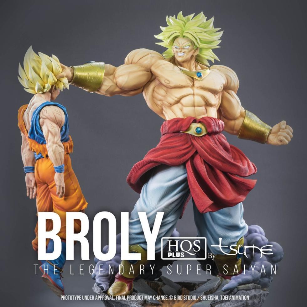 Broly - Resina definitiva