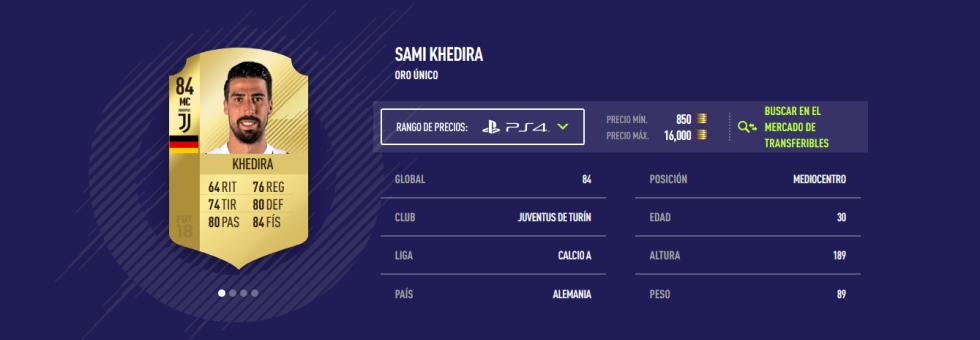 FIFA 18 - Khedira