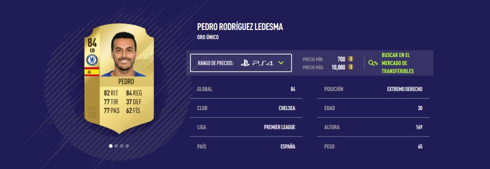 FIFA 18 - Pedro