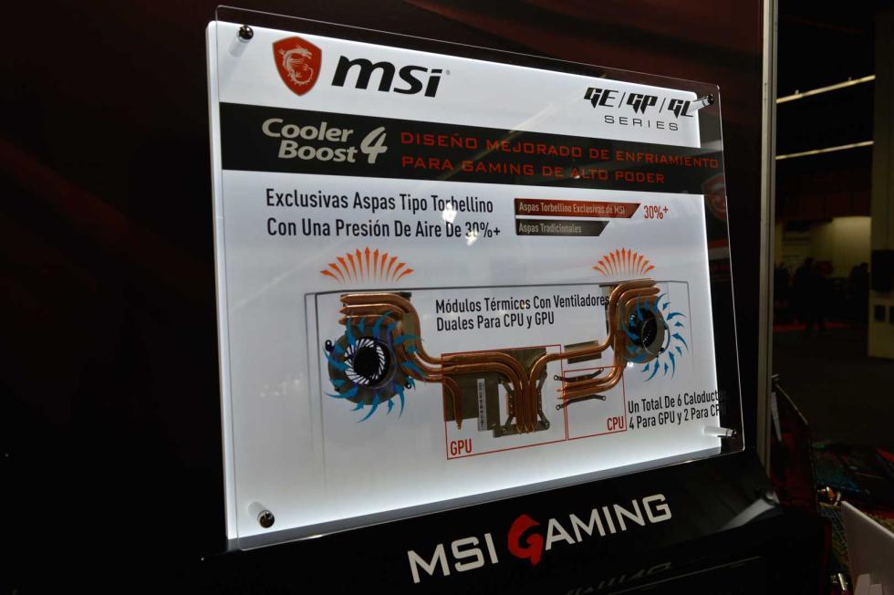 Cooler Boost 4 de MSI - esports