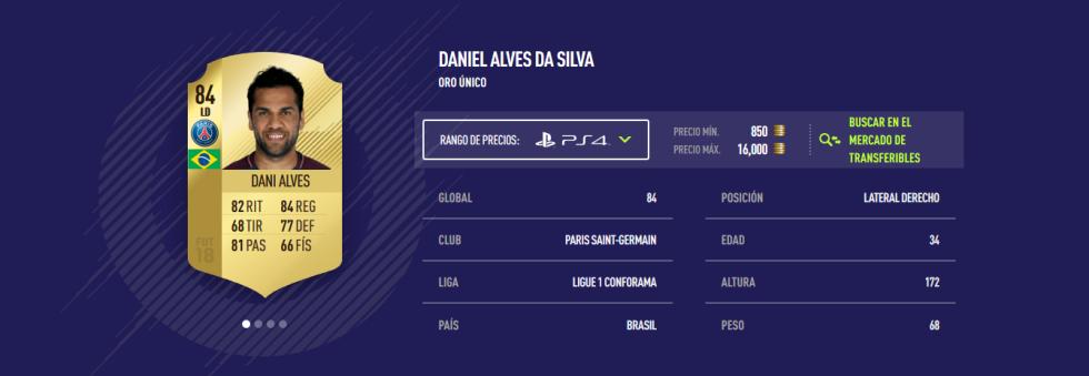 FIFA 18 - Alves